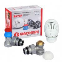 Комплект термостатический угловой Giacomini
