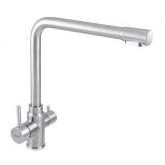 Смеситель для кухни Haiba SUS 021 с выходом для питьевой воды