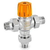 Регулируемый термостатический смесительный клапан для солнечных систем OR с американкой