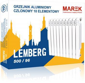 LEMBERG 500/96 радиатор алюминиевый