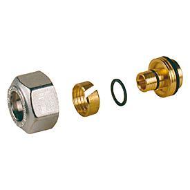 Перехідник для металопластикових і пластикових труб Giacomini R179AM