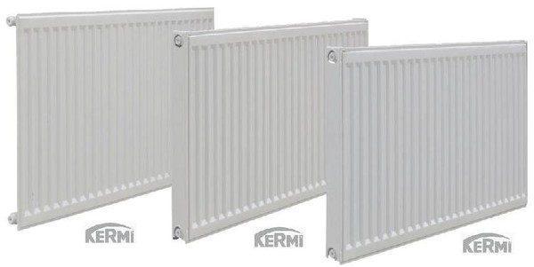 Радиатор сталь боковое подключение тип 22  высота 300 мм KERMI