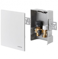 Термостатический комплект Oventrop Unibox-E Vario белый 1022634