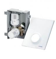 Термостатический комплект Oventrop Unibox plus белый 1022637