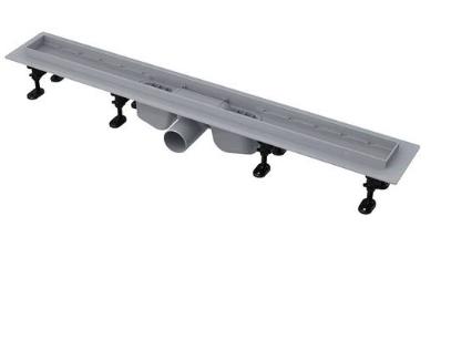 Водосточный желоб APZ12 с порогами для перфорированной решетки или решетки под кладку плитки Tile