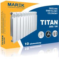 TITAN 500/96 радиатор биметаллический